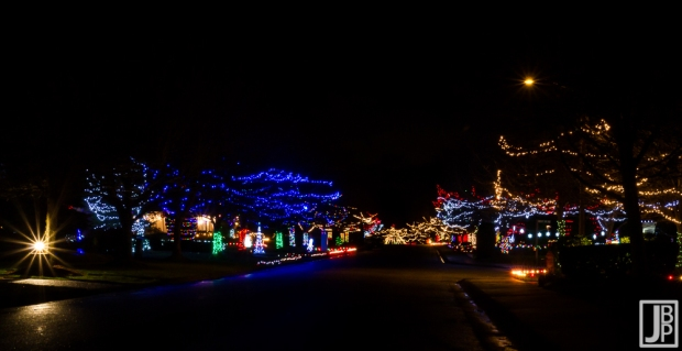 Local neighborhood that really gets into the holiday spirit!